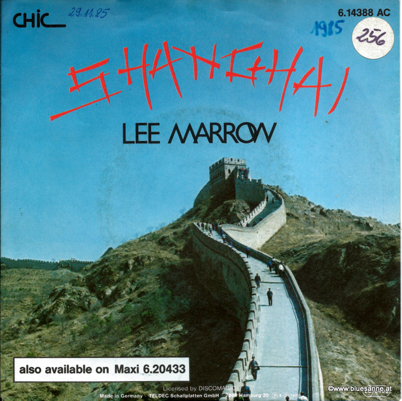 Lee Marrow ‎– Shanghai 1985