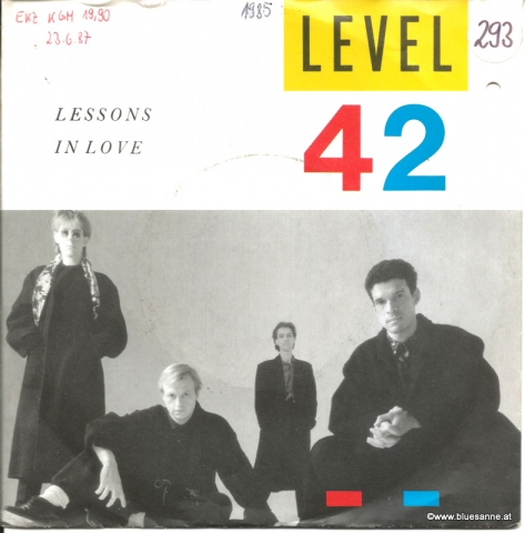 Level 42 ‎– Lessons In Love 1986