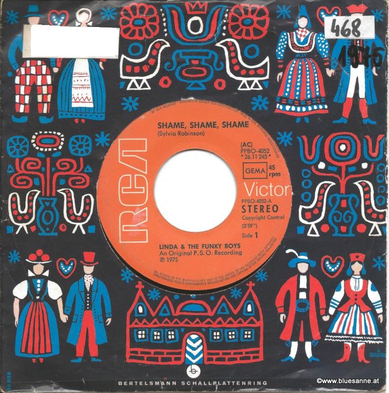 Linda & The Funky Boys – Shame, Shame, Shame 1975