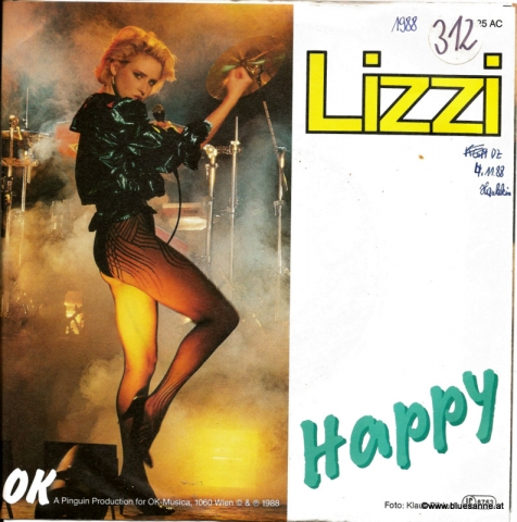 Lizzi ‎– Happy 1988