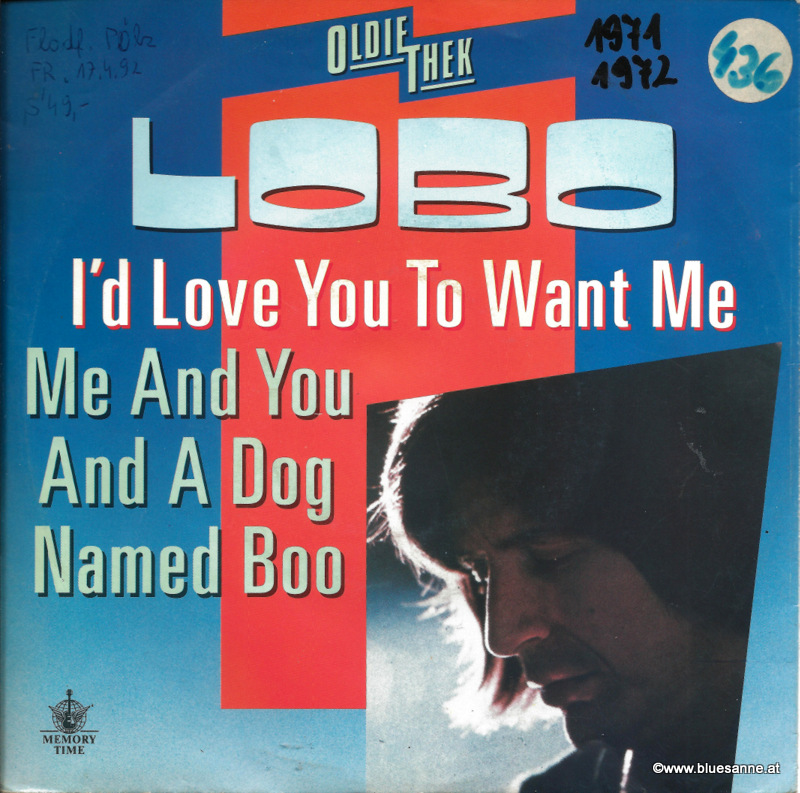 Lobo -  I´d love you to want me 1971