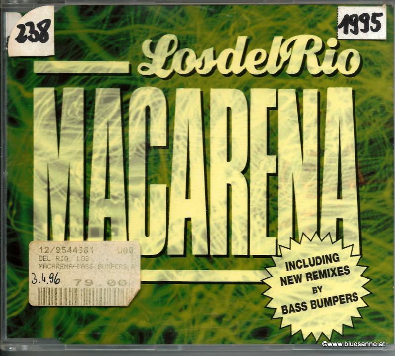 Los Del Rio – Macarena 1995 CD-Single