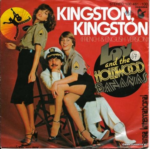 Lou And The Hollywood Bananas – Kingston, Kingston 1979