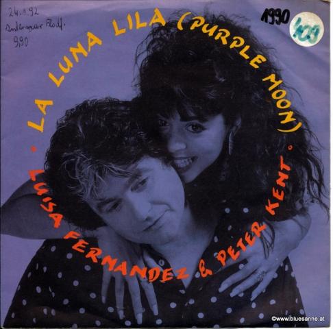 Luisa Fernandez & Peter Kent – La Luna Lila (Purple Moon) 1990