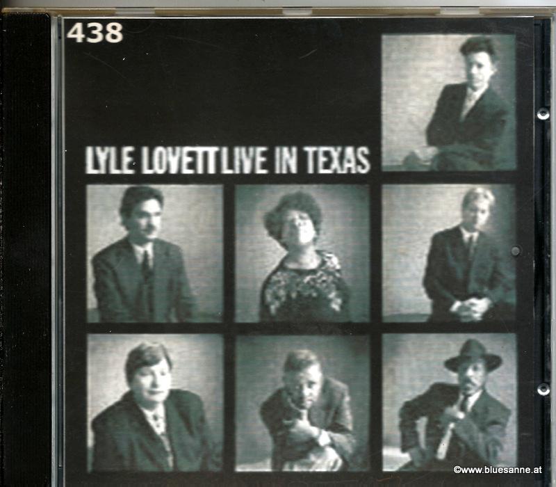 Lyle Lovett – Live In Texas 1999 CD