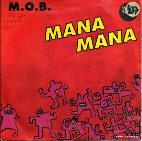 M.O.B. Mana Mana 1991Single