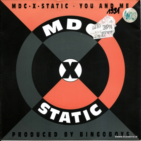MDC-X-Static ‎– You And Me 1991