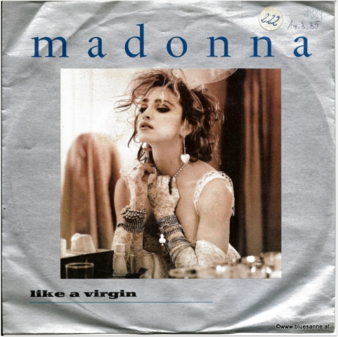 Madonna Like a virgin 1984 Single