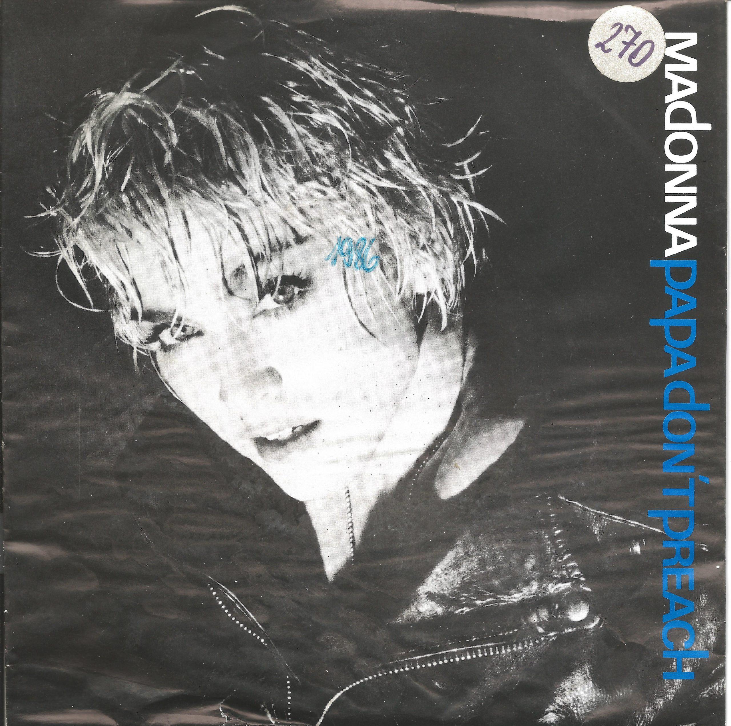 Madonna Papa dont preach 1986