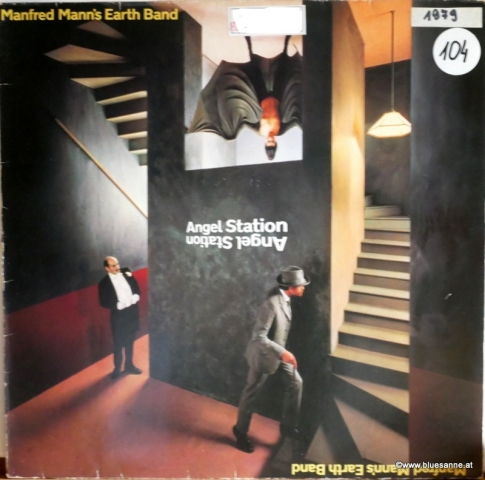 Manfred Manns Earth Band Angel Station 1979 LP