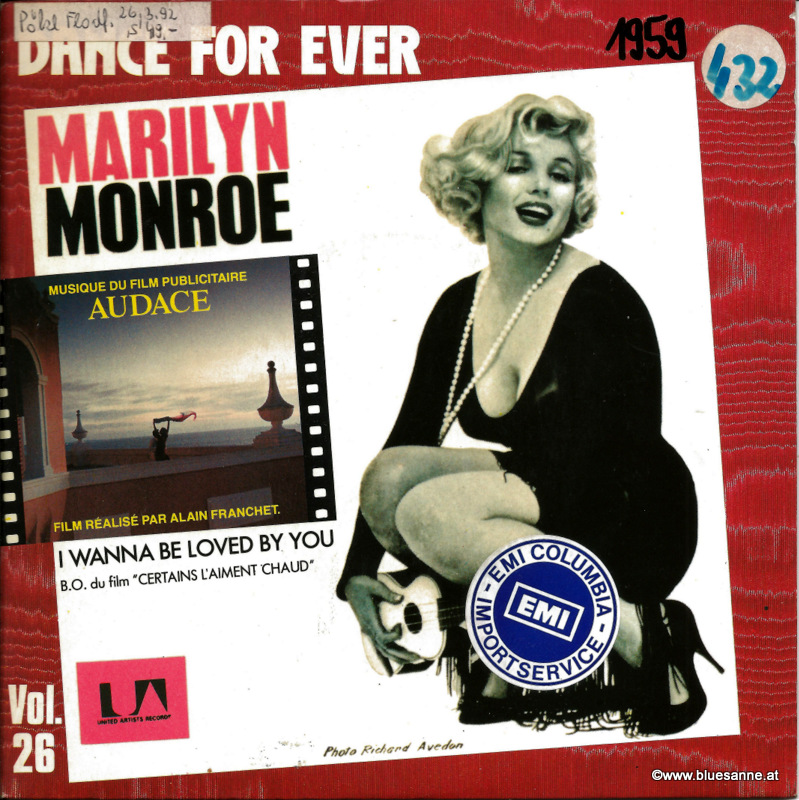 Marilyn Monroe - I wanna be loved by you 1983  (1959)