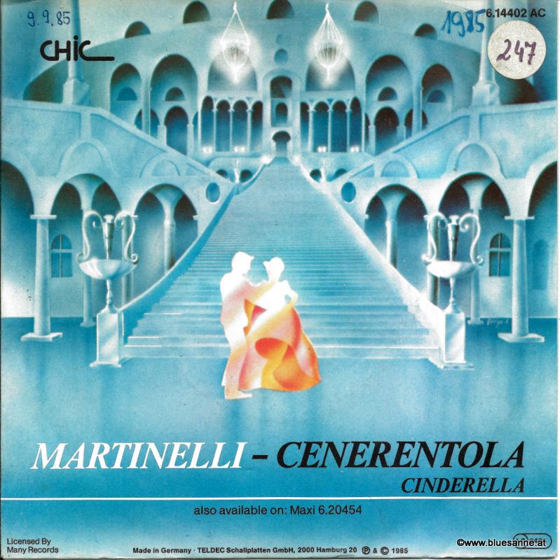 Martinelli – Cenerentola (Cinderella) 1985