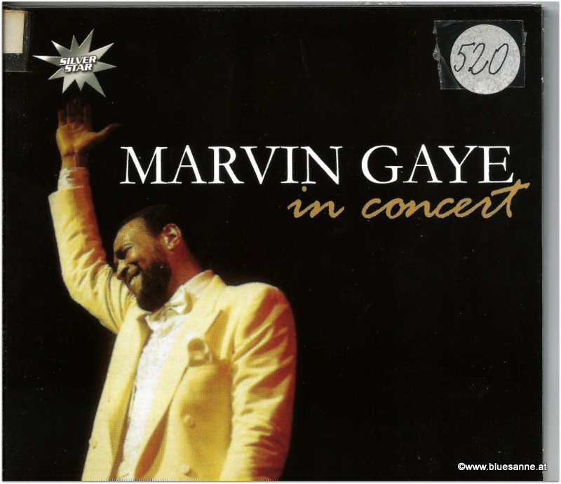 Marvin Gaye in Concert CD