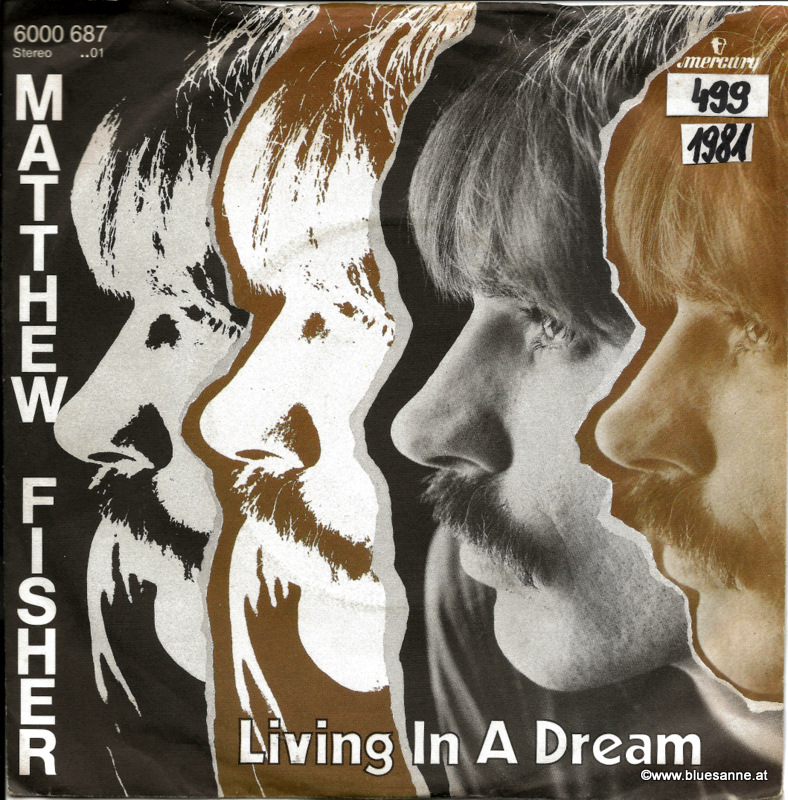 Matthew Fisher ‎– Living In A Dream 1981