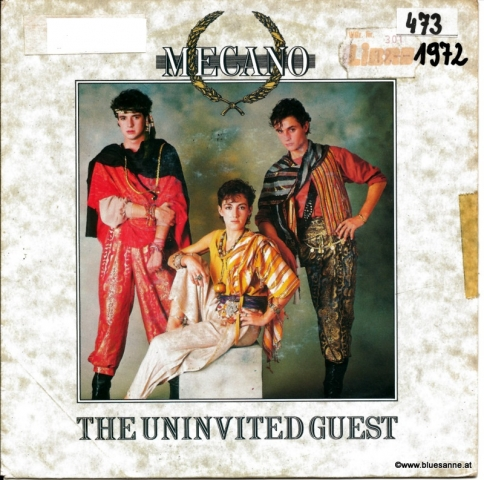 Mecano ‎– The Uninvited Guest 1982