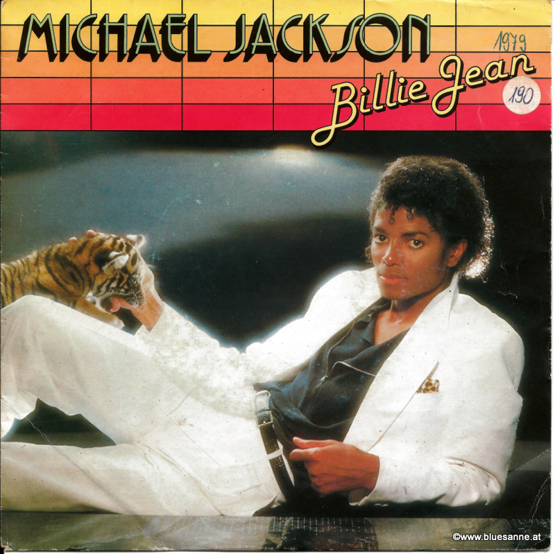 Michael Jackson Billie Jean 1979 / 1982 Single