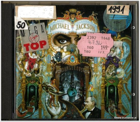 Michael Jackson Dangerous 1991 CD