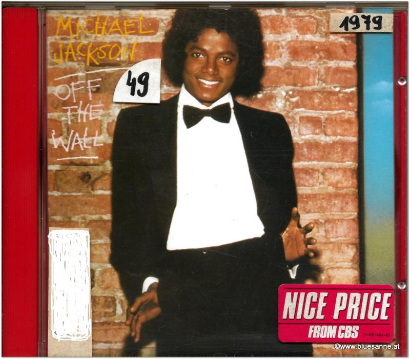 Michael Jackson Of the wall 1979 CD
