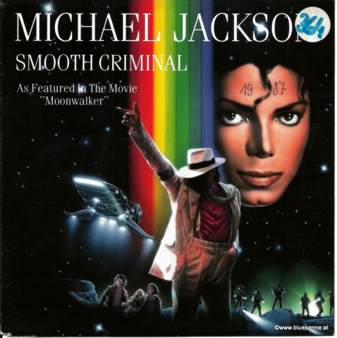 Michael Jackson Smooth Criminal 1987 Single