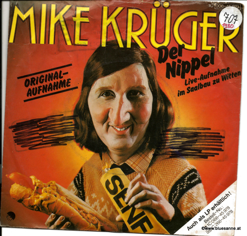 Mike Krüger – Der Nippel 1980 Single