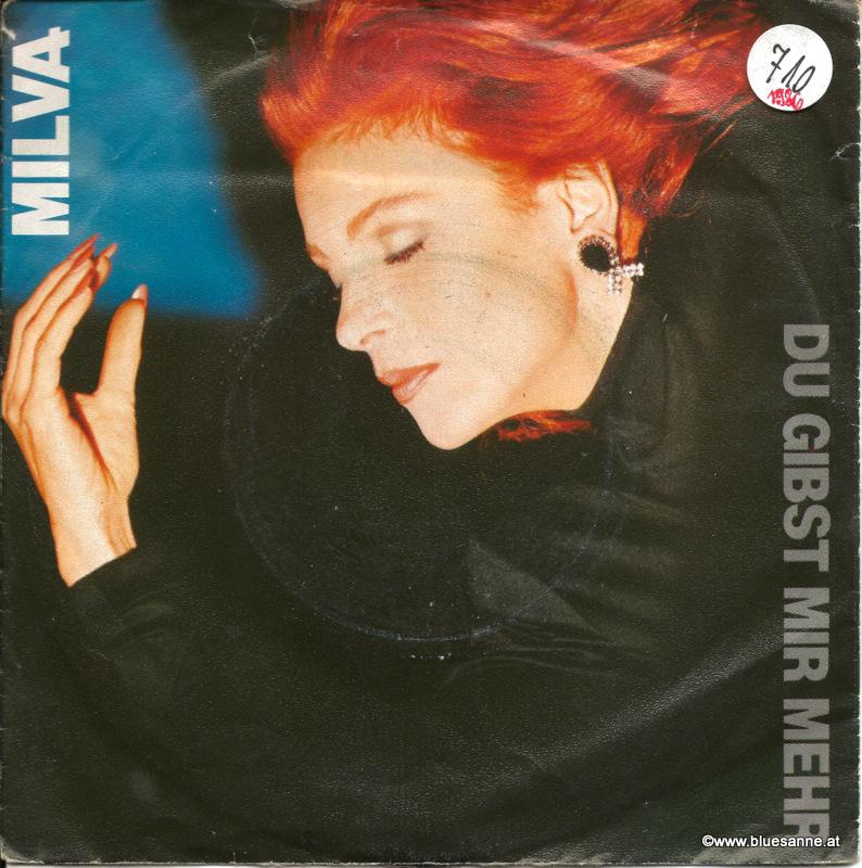 Milva – Du gibst mir mehr 1986 Single
