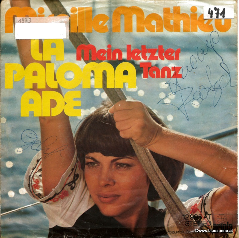 Mireille Mathieu – La Paloma Ade 1973