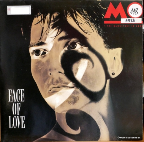 Mo+The Gangsters In Love ‎Face Of Love 1988 LP