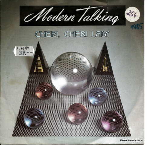 Modern Talking ‎– Cheri, Cheri Lady 1985