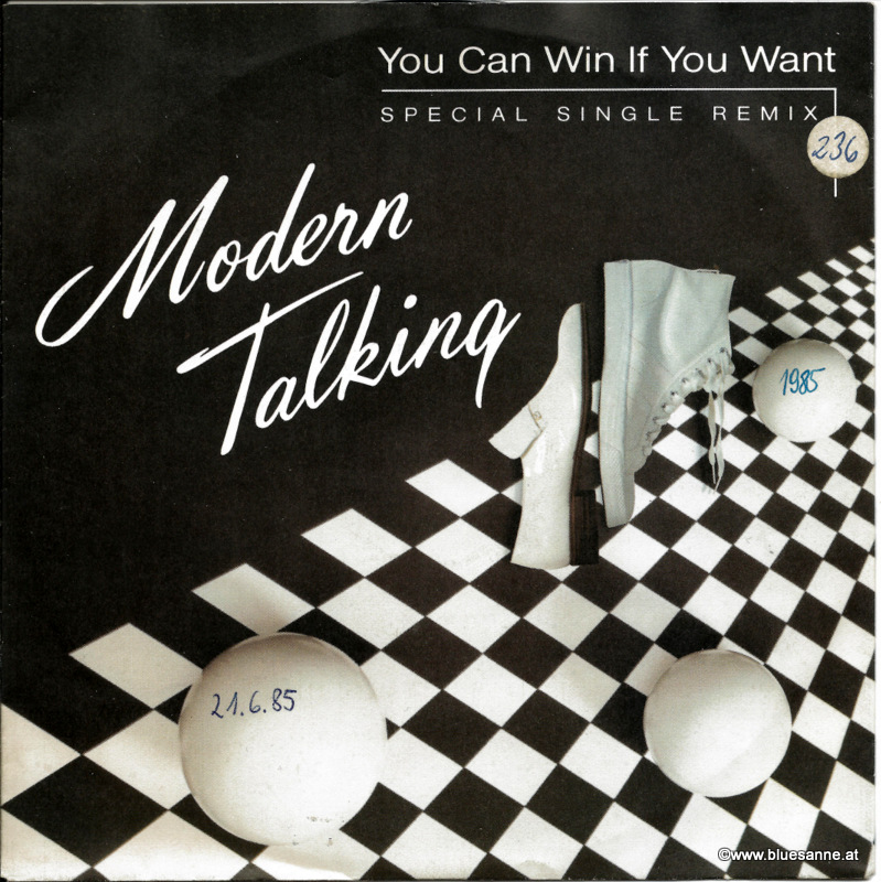 Modern Talking ‎– You Can Win If You Want 1985