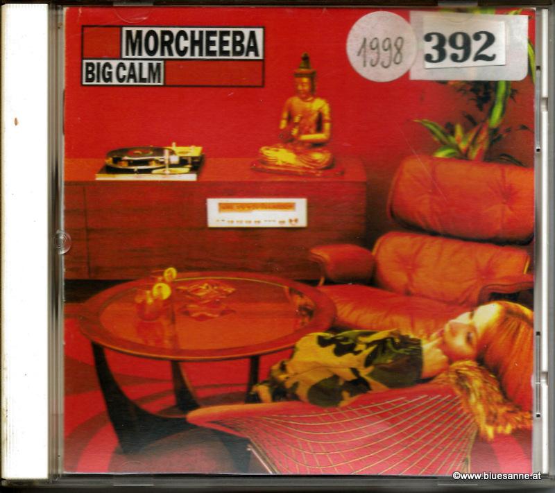 Morcheeba Big Calm 1998 CD