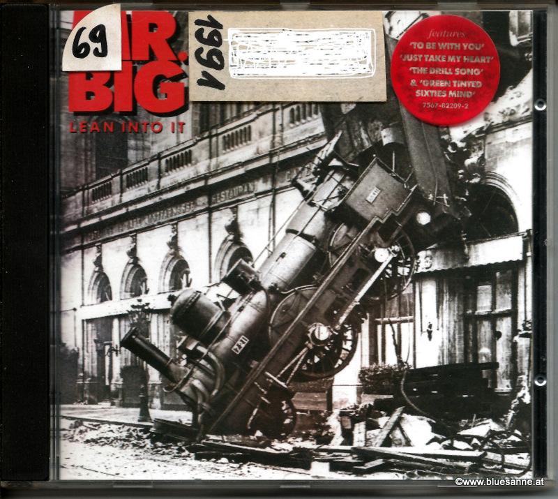 Mr Big Lean into me CD 1991