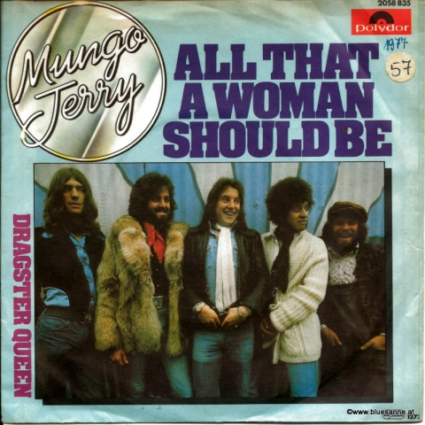 Mungo Jerry ‎– All That A Woman Should Be 1977