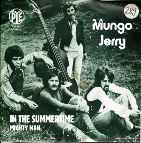 Mungo Jerry ‎– In The Summertime 1970