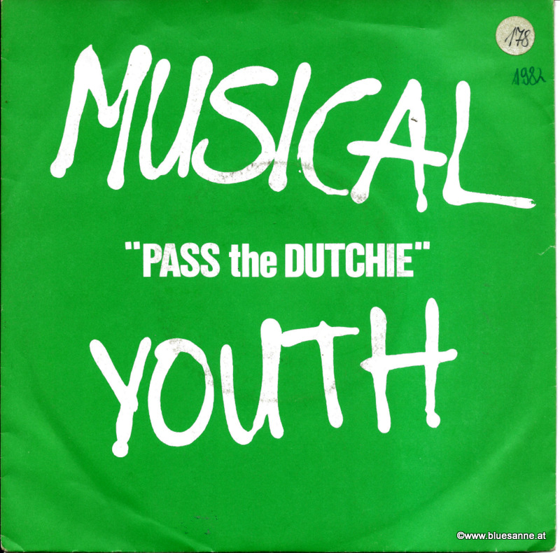 Musical Youth ‎– Pass The Dutchie 1982