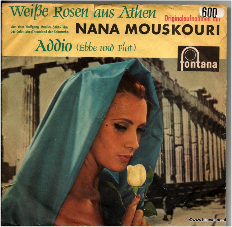 Nana Mouskouri Weiße Rosen aus Athen Single