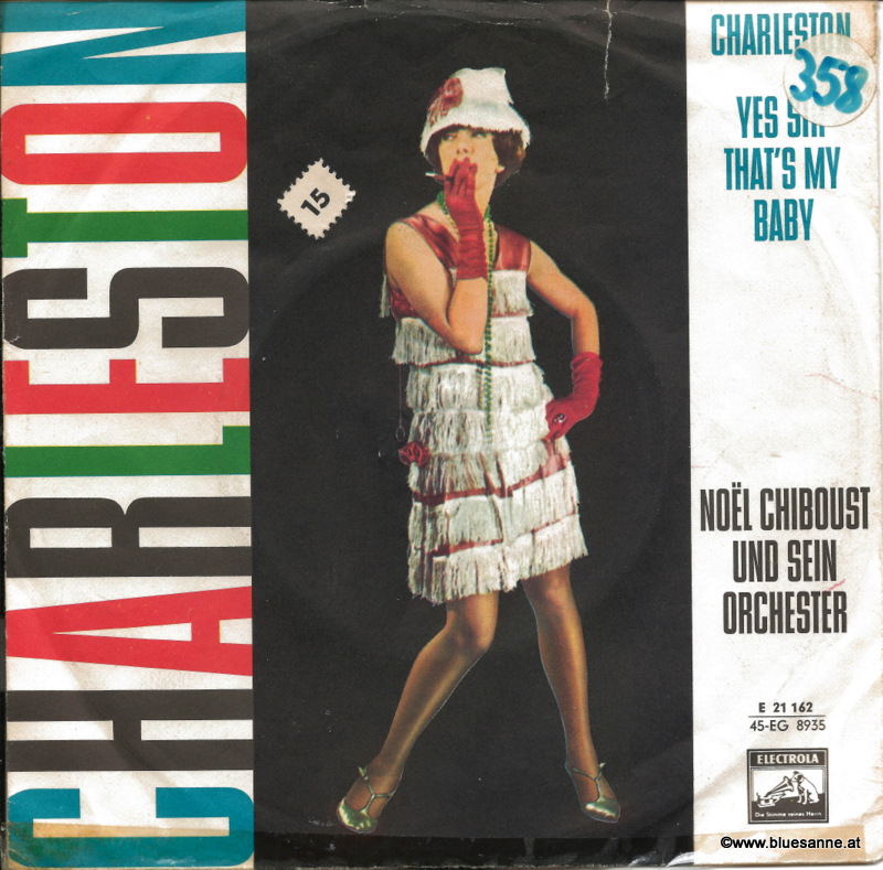 Noël Chiboust Und Sein Orchester – Charleston 1958