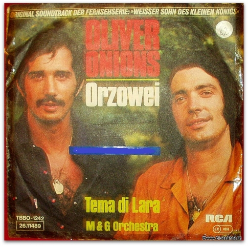 Oliver Onions Orzowei 1976 Single