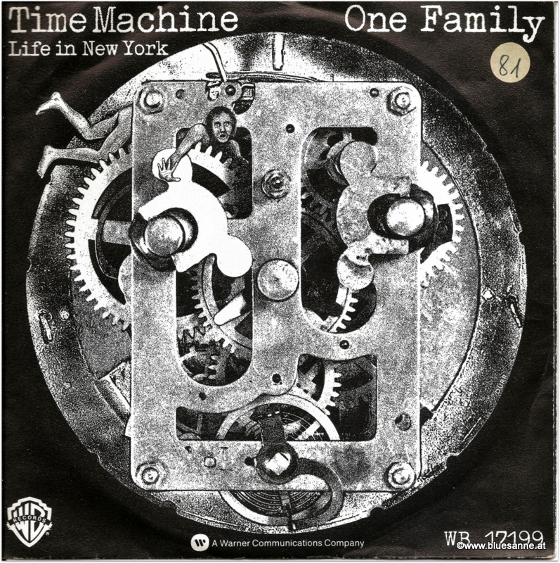 One Family Time Machine 1978 Single