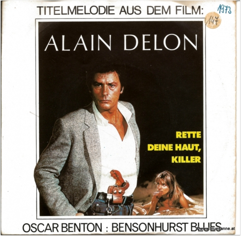 Oscar Benton Bensonhurst Blues Single