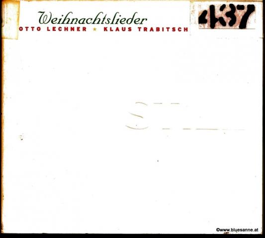 Otto Lechner + Klaus Trabitsch – Still (Weihnachtslieder) 1996