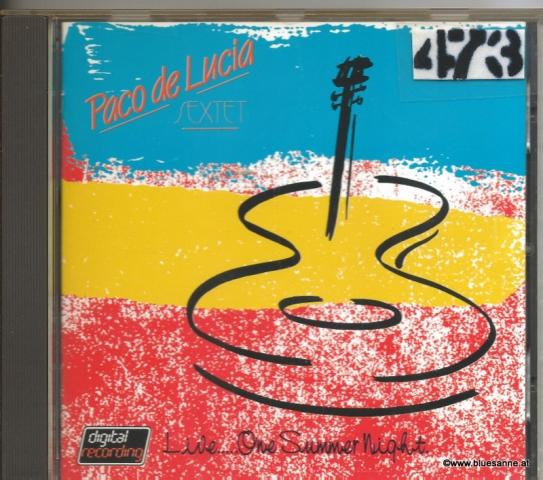 Paco De Lucia Sextet – Live One Summer Night 1984 CD