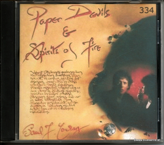 Paul F. Cowlan ‎– Paper Devils & Spirits Of Fire 1992 CD