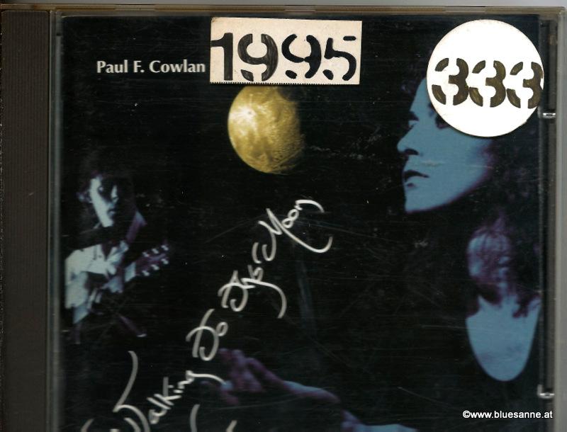 Paul F. Cowlan – Walking To The Moon 1995 CD
