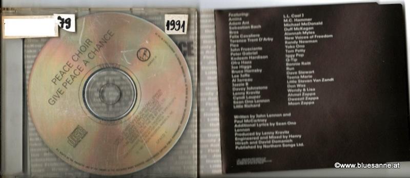 Peace Choir Give peace a chance 1991 CD-Single