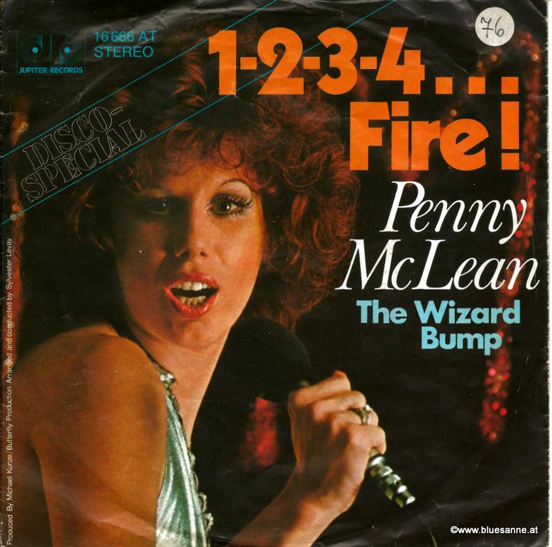 Penny McLean – 1-2-3-4...Fire! 1976