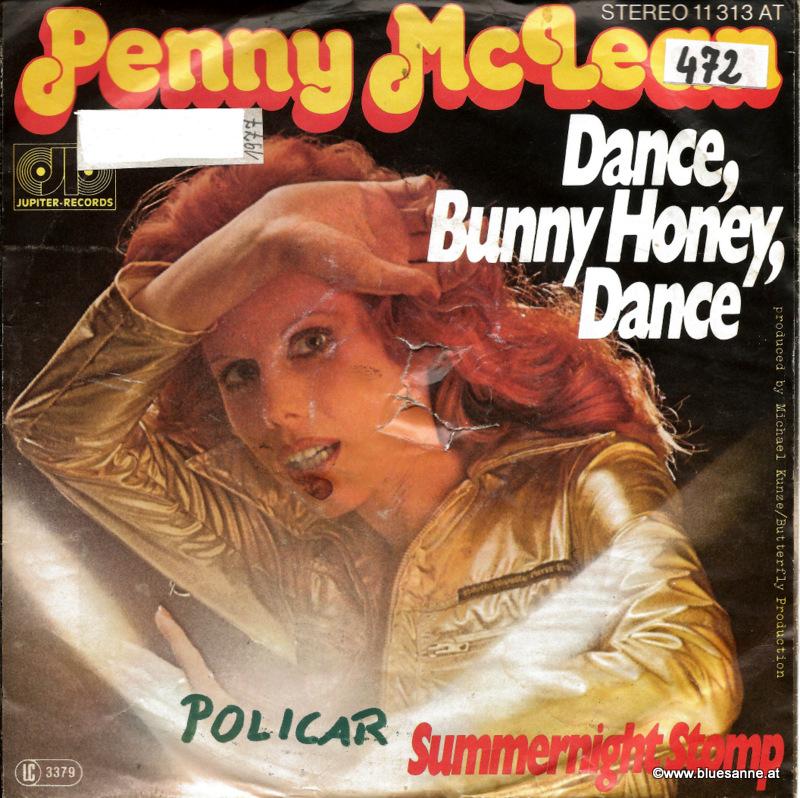 Penny McLean – Dance, Bunny Honey, Dance 1977