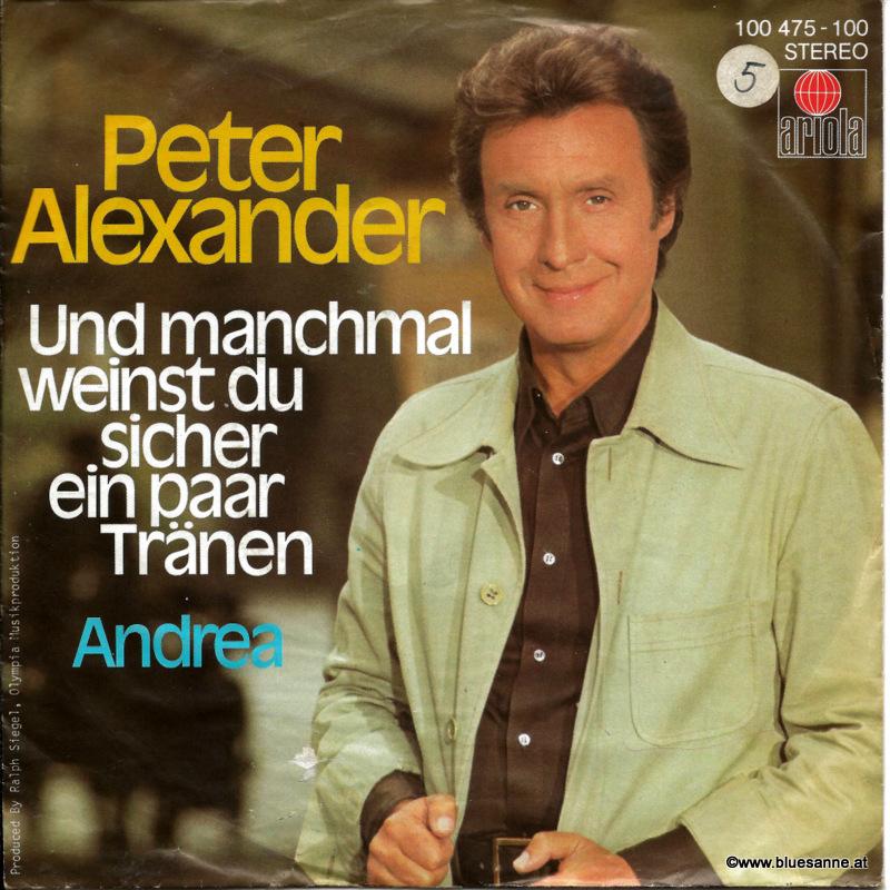 Peter Alexander – Und manchmal weinst Du sicher ein paar Tränen 1979
