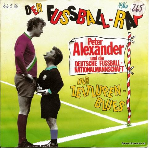 Peter Alexander und die Deutsche Fussball-Nationalmannschaft - Der Fußball-Rap 1986