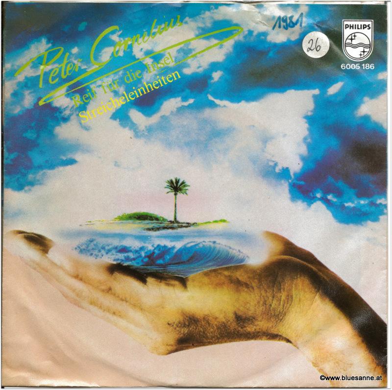 Peter Cornelius Reif für die Insel 1981 Single