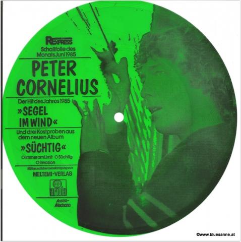 Peter Cornelius Segel im Wind SingleFolie